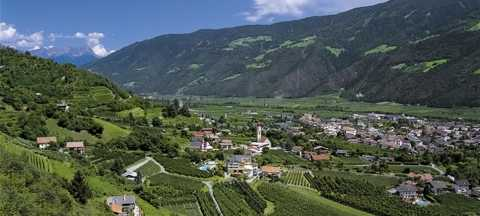 Naturns to Merano - South Tyrol, Italy